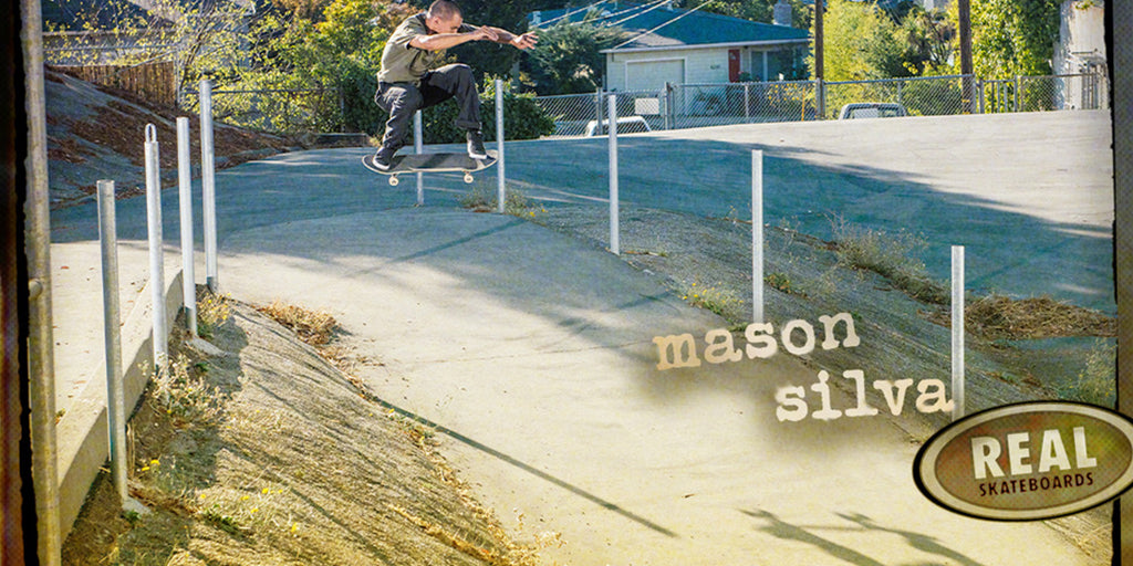 Mason Silva now rides for REAL Skateboards