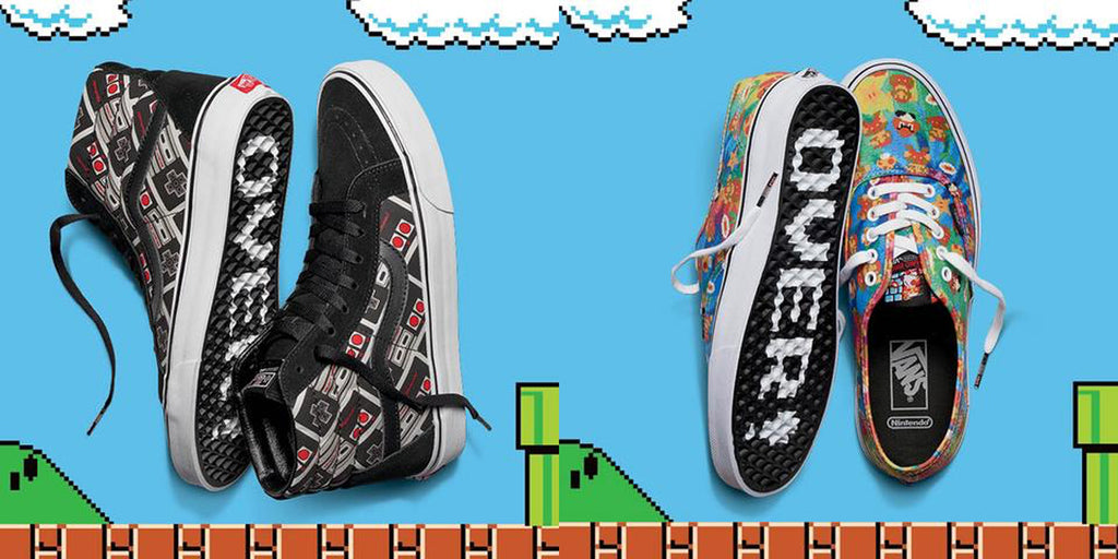 bc27f368fed600 VANS POWERS UP WITH A NEW NINTENDO COLLECTION – baselineskateshop
