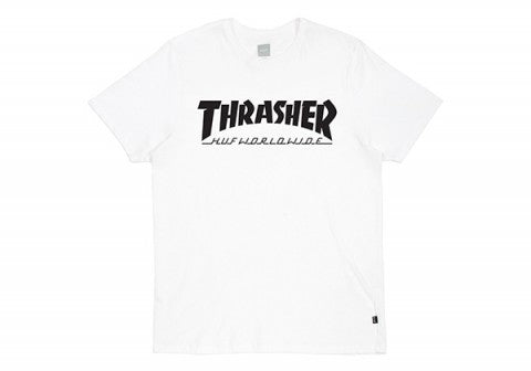 HUF X THRASHER TOUR TEE WHITE 1