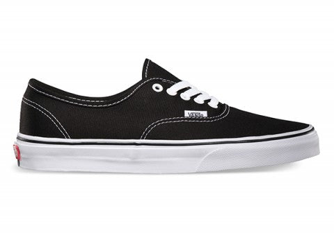 Vans Canvas Authentics (Black) 1