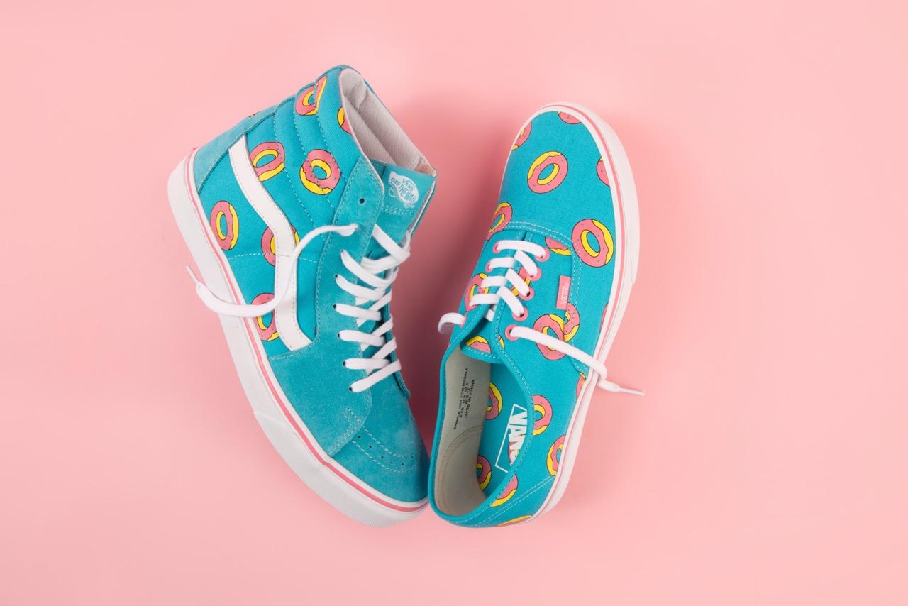 baf6cfe6232d51 Vans and hip-hop collective Odd Future reunite this fall to unveil a  vibrant new rendition of Vans  iconic footwear models