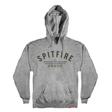 Spitfire - Burn Division Hood (Gunmetal Heather/Green)