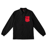 Spitfire - Potrero Jacket (Black/Red)