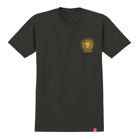 Spitfire - KTUL Tee (Tar/Orange/Yellow)
