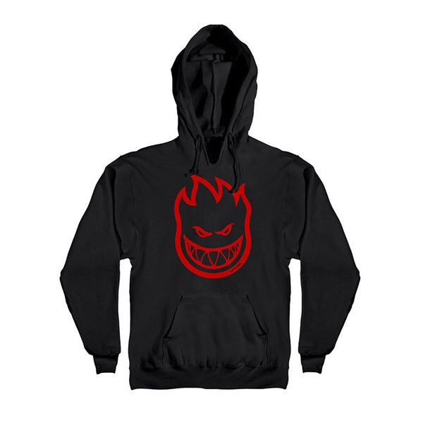 Spitfire - Bighead Hood (Black/Red)
