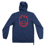 Spitfire - Bighead Double Packable Anorak (Navy/Red)
