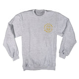 Spitfire - Classic Bighead  Crew (Grey Heather/Yellow)