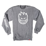 Spitfire - Bighead Hombre Crew (Gunmetal Heather/White)