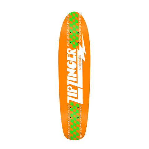 Krooked - Zip Zinger Classic Orange Cruiser Deck