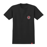 Spitfire - KTUL Pocket Tee (Black/Red/White)