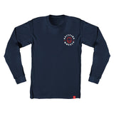 Spitfire - Big Head Classic LS Tee (Navy/White/Red)