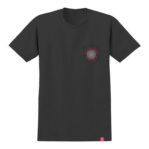 Spitfire - OG Classic Pocket Tee (Black/Grey/Red)