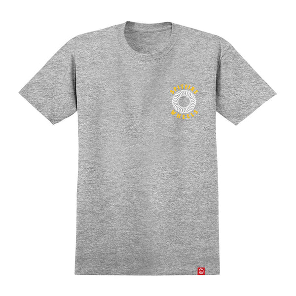 Spitfire - OG Classic Double Tee (Athletic Heather/Yellow)