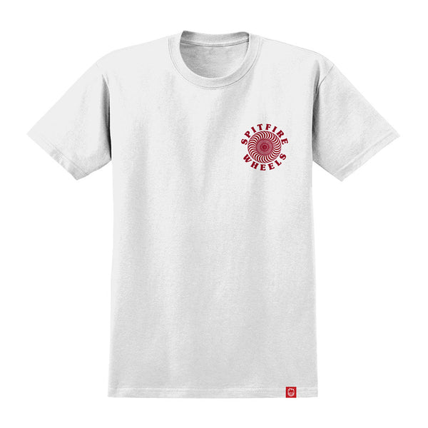Spitfire - OG Classic Tee (White/Red)