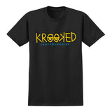 Krooked - KRKD Eyes Tee (Black/Yellow/Blue)