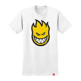 Spitfire - Bighead Fill Youth Tee (White/Yellow)