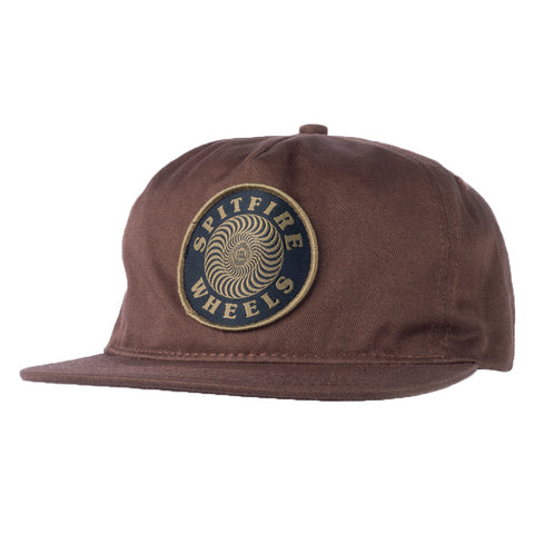 Spitfire - Adjustable OG Classic Snapback (Brown)