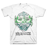 Face Ooze - Green Orc Tee (White)