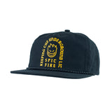 Spitfire - Steady Rocking Snapback (Black/Yellow)