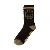 Spitfire - Bighead Calf Sock (Black/Gold/Olive)