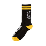 Spitfire - Headsup Calf Sock (Black/White/Yellow)