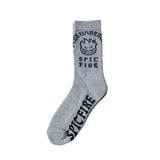 Spitfire - Steady Rocking Sock (Grey/Black)