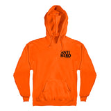 Anti Hero - Lil Black Hero Embroidered Hood (Orange/Black)