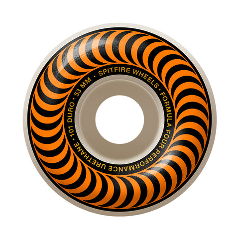 Spitfire - Formula Four 101D Classic Orange Wheel