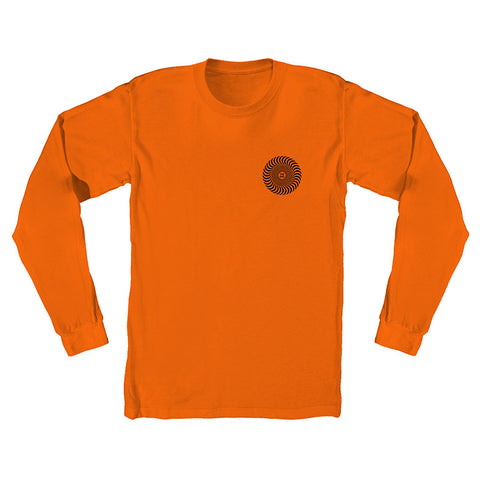 Spitfire - Covert Classic LS Tee (Orange/Black)