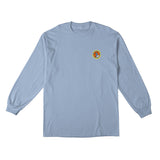 Anti Hero - Pigeon Round LS Tee (Powder Blue)