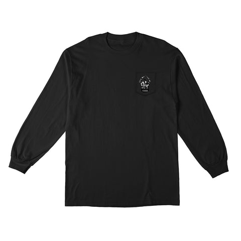 Anti Hero - Tune Out LS Tee (Black/White)