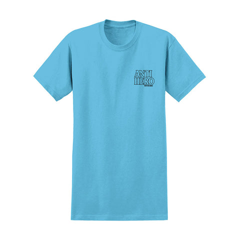 Anti Hero - Best Friend Tee(Pacific Blue/Black)