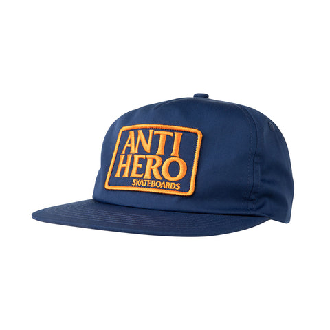 Anti Hero - Reserve Patch Snapback (Navy)