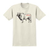 Anti Hero - Cow Tee (Cream/Black)