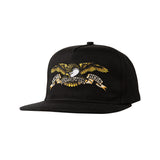 Anti Hero - Eagle Embroidered Snapback (Black)