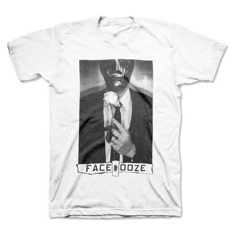 Face Ooze - x Baseline Mask Tearz Tee (White)