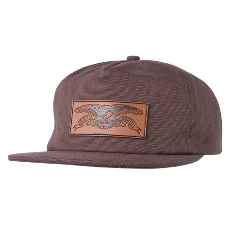 Anti Hero - Standard Issue Eagle Snapback (Brown)