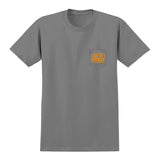 Anti Hero - Reserve Pocket Tee (Charcoal/Orange)