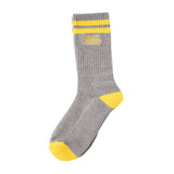 Anti Hero - Block Hero Outline Sock (Heather Grey)
