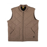 Krooked - Diamond Embroidered Vest (Khaki)