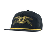 Anti Hero - Basic Eagle Snapback (Black/Gold)
