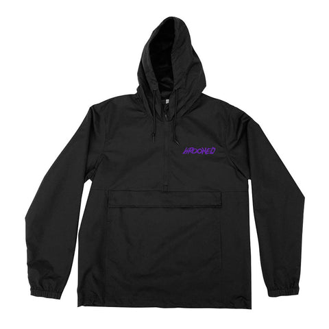Krooked - Moon Smile Anorak (Black/Purple)