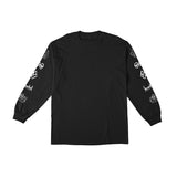 Krooked - Naskar LS Tee (Black/White)