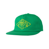 Krooked - Arketype Snapback (Green/Yellow)