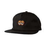 Krooked - Eyes Snapback (Black/Orange)