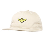 Krooked - OG Bird Embroidered Strapback (Cream)