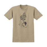 Krooked - Coin Tee (Sand/Black)