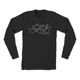 Krooked - OG Birds LS Tee (Black/White)