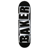 Baker - Brand Logo Deck (Black/White)