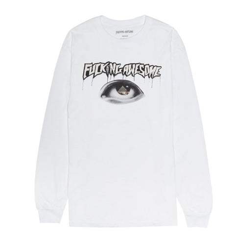 Fucking Awesome - Egypt LS Tee (White)